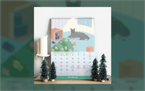Kocie kalendarze na 2021 rok 🎊🎊🎊